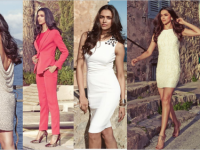 Deepika Padukone's Van Heusen SS'14 Collection
