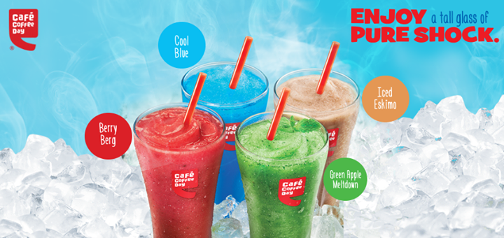 its new - Cafe Coffee Day - introduces Brain Freeze drinks _ 2 - information given by BangaloreBengaluru