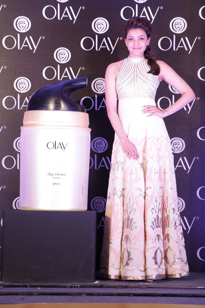 Kajal Aggarwal for Olay Total Effects 1.1