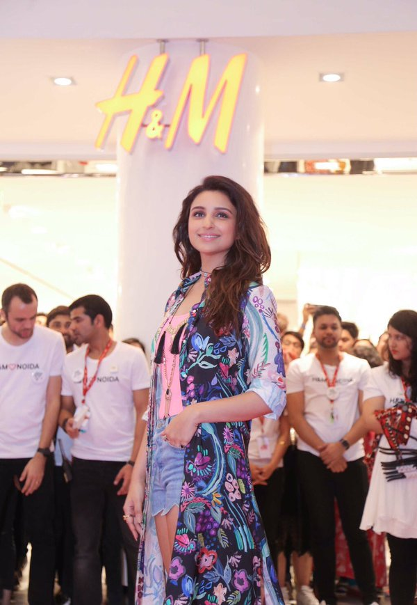 Parineeti Chopra at H&MM Launch spotlightxoxo ritwika gupta