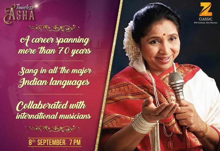 Zee Classic presents Asha Bhosle's Birthday Special with 'Timeless Asha'
